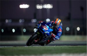"MotoGP | Test Qatar Day 1: Alex Rins, ""Ho migliorato il feeling giro dopo giro"""