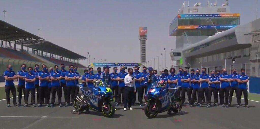 MotoGP | Segui in streaming la presentazione Suzuki [VIDEO]
