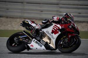 "MotoGP   Test Qatar Day 2: Taakaki Nakagami, ""Sessione impegnativa"""