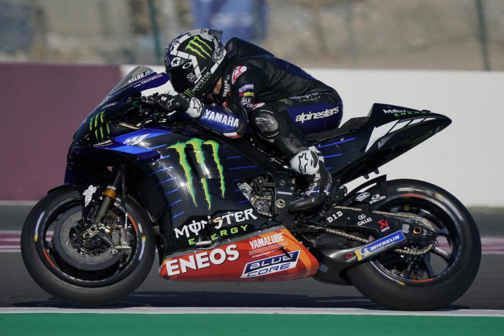 MotoGP | Test Qatar 2 Day 2: Vinales precede Morbidelli, Rossi è ottavo