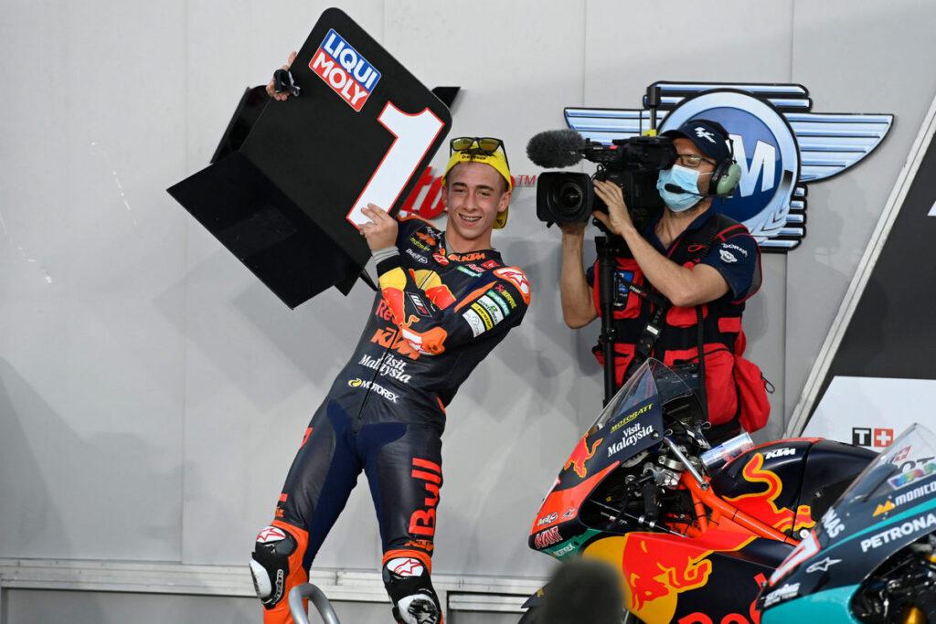 Moto3 | Gp Qatar 2: Pedro Acosta racconta la vittoria partendo dalla pit-lane
