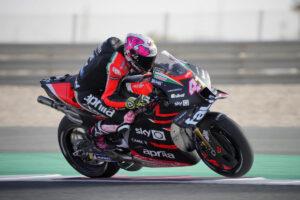 MotoGP | Gp Qatar 2 FP1: Aprilia al Top con Espargarò, Rossi 17esimo