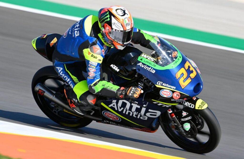 Moto3   Gp Jerez FP1: Antonelli in vetta, Foggia è sesto