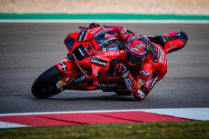 MotoGP | Gp Portimao FP2: Bagnaia il più veloce, Marc Marquez chiude sesto
