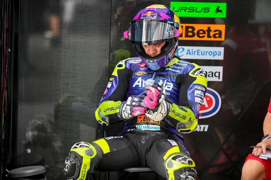 MotoGP   Bastianini: malessere dopo seconda dose vaccino