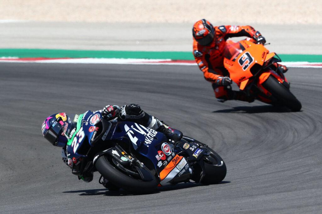 """MotoGP   GP Portimao Gara: Enea Bastianini, """"Sono molto soddisfatto"""""""