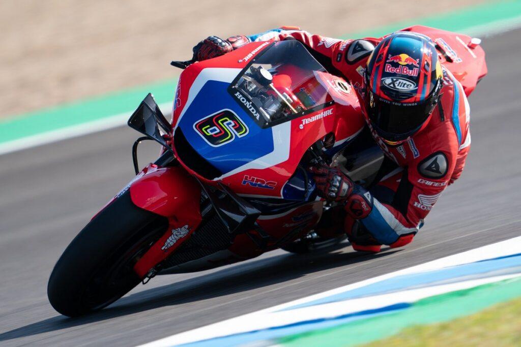 MotoGP | Bradl in pista a Jerez con i colori Honda HRC