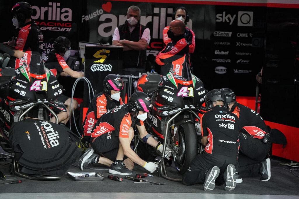 MotoGP | Dovizioso pronto per il test con l'Aprilia RS-GP