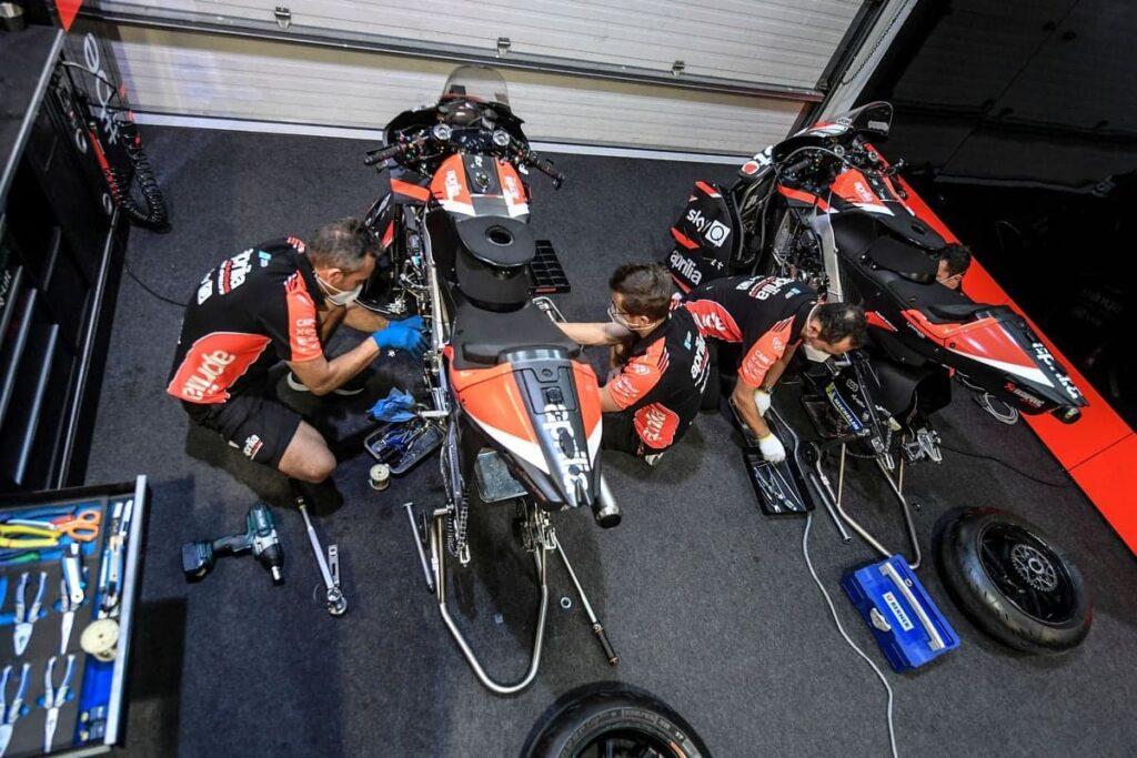MotoGP | Test Jerez: Dovizioso prova l'Aprilia RS-GP  [FOTO]
