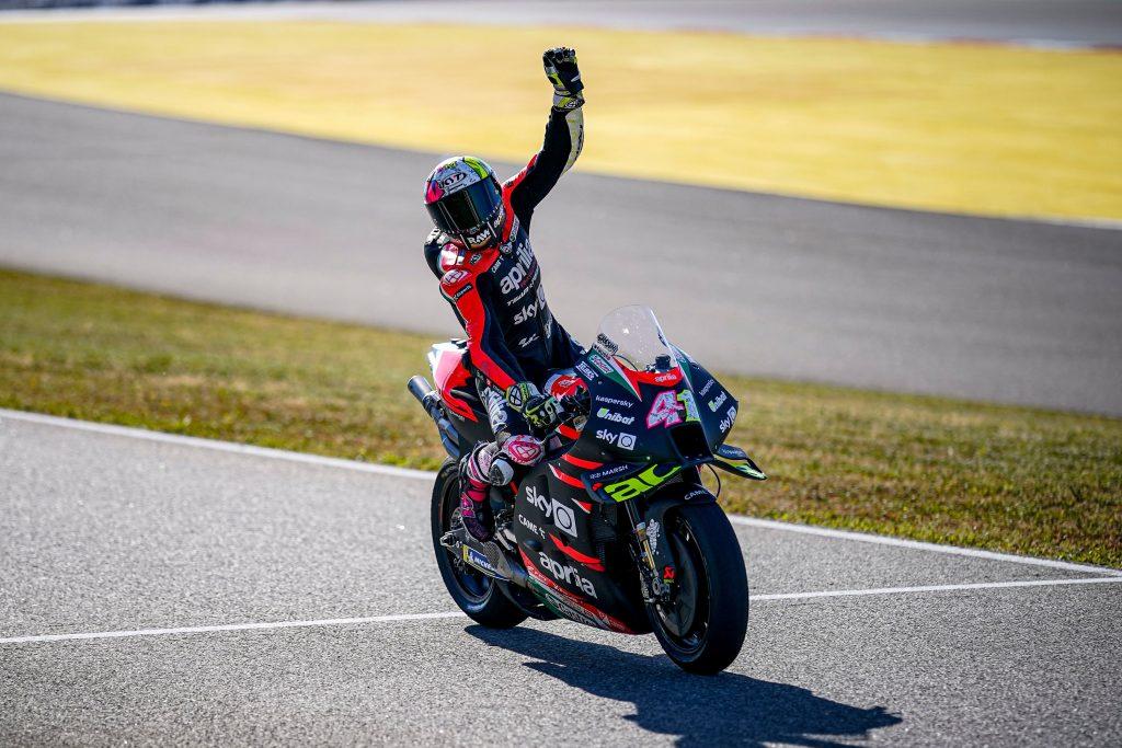 "MotoGP | GP Portimao Gara: Aleix Espargarò, ""Sono carico"""