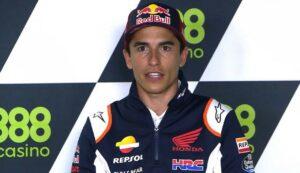 """MotoGP   GP Portimao Conferenza Stampa: Marc Marquez, """"Non aspettatevi nulla questo weekend"""""""