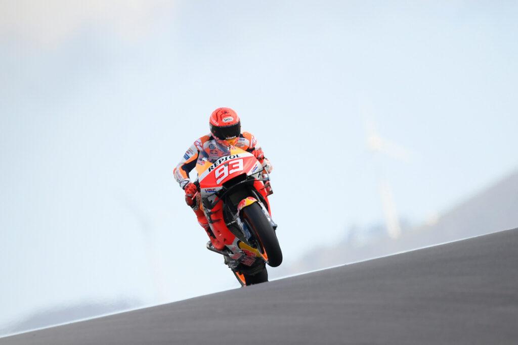 MotoGP   Gp Portimao FP1: Marquez è tornato, terzo tempo dietro a Vinales e Rins