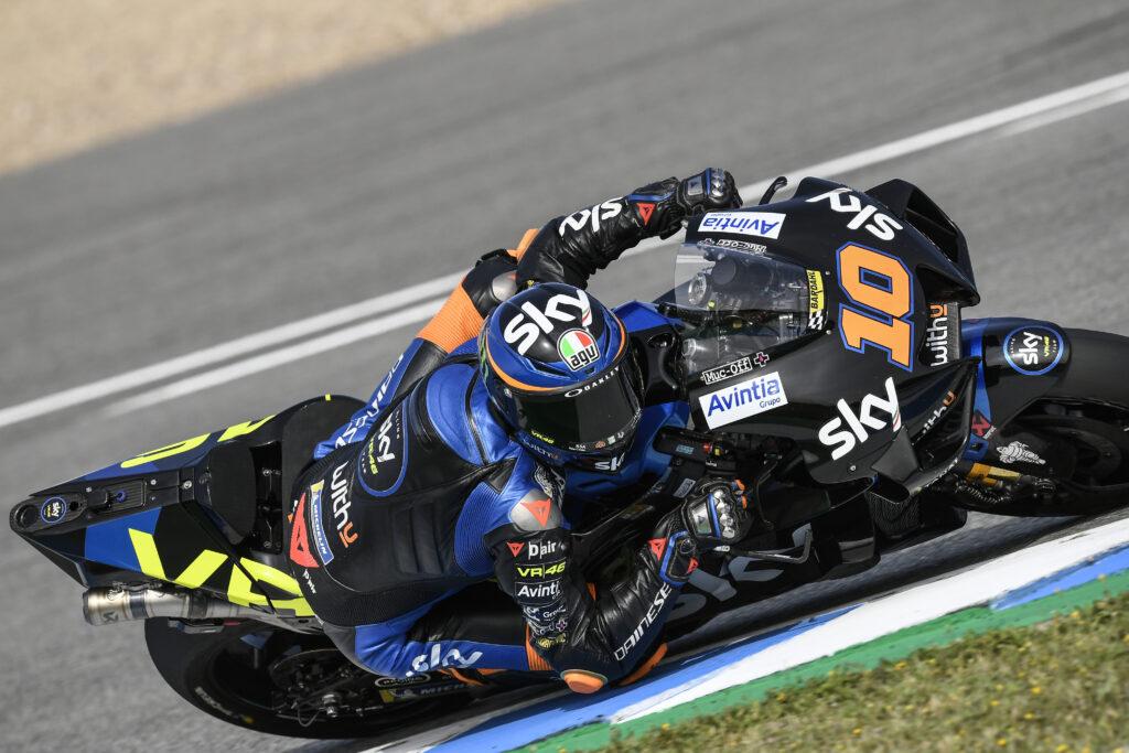 """MotoGP   GP Jerez Day 1, Marini: """"Contento del lavoro fatto"""""""