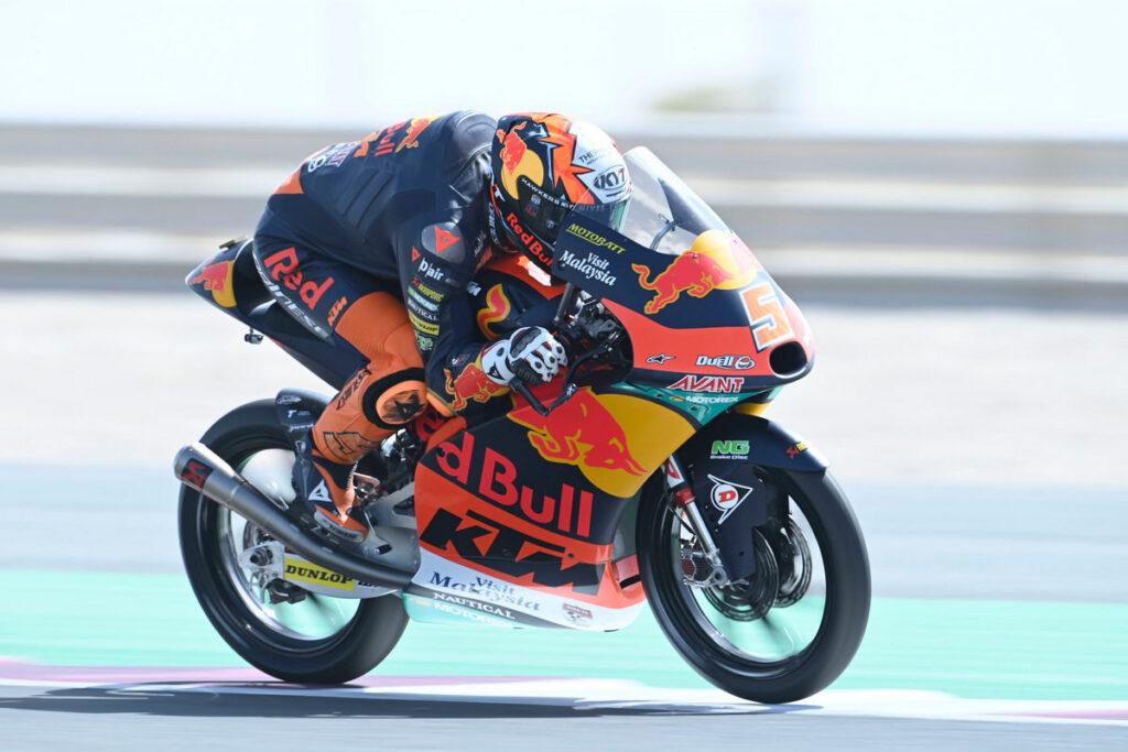 Moto3 | Gp Qatar 2 FP1: Masia precede Foggia
