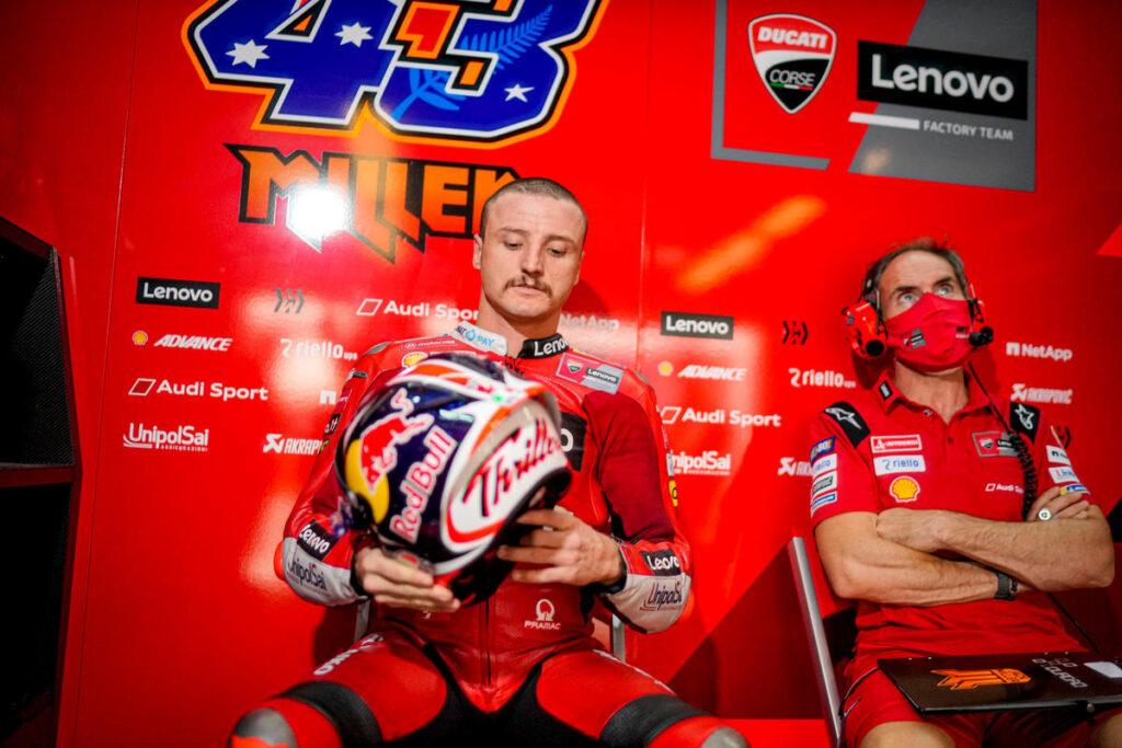 MotoGP   Jack Miller operato all'avambraccio destro