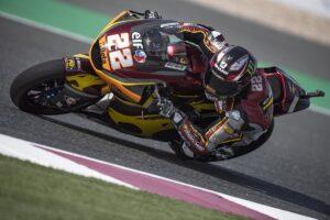 Moto2   Gp Qatar 2 FP3: vento e sabbia protagonisti, Lowes il più veloce