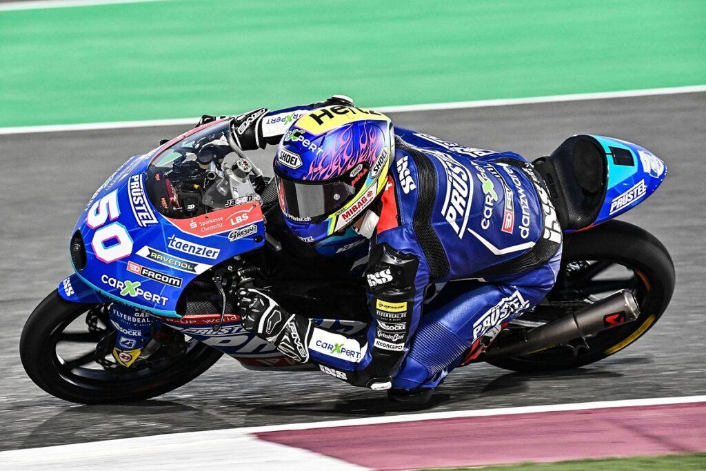 Moto3 | Gp Qatar 2 FP3: Dupasquier beffa tutti nella tempesta di sabbia