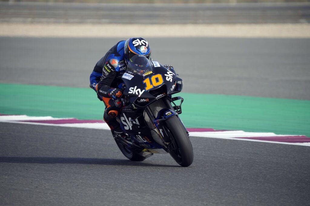 "MotoGP   GP Qatar 2 Day 1: Luca Marini, ""Venerdì positivo"""