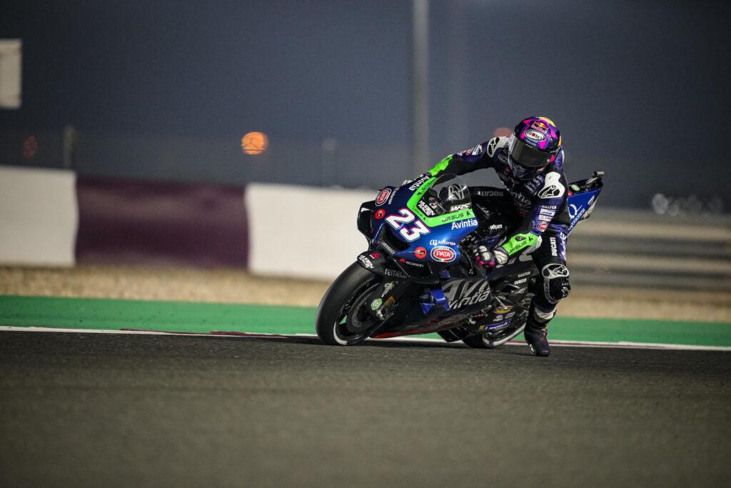 """MotoGP   GP Qatar 2 Qualifiche: Enea Bastianini, """"Senza problemi alla prima moto sarei passato in Q2"""""""