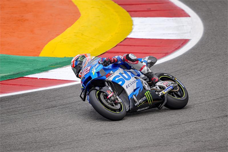 "MotoGP | GP Portimao Day 1: Alex Rins, ""Poco grip, ma sono contento"""