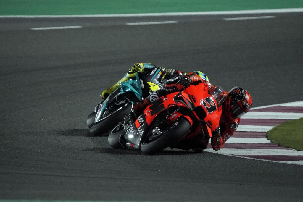 "MotoGP | GP Qatar 2: Petrucci, ""Gara molto difficile"""