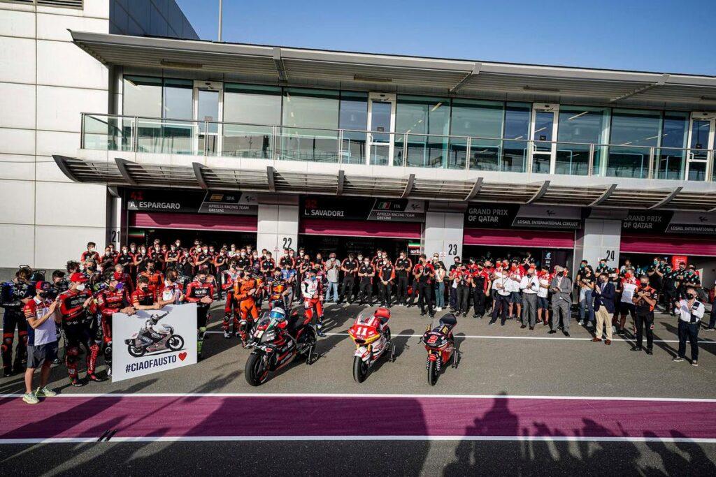 MotoGP e Formula 1 unite nel ricordo di Fausto Gresini
