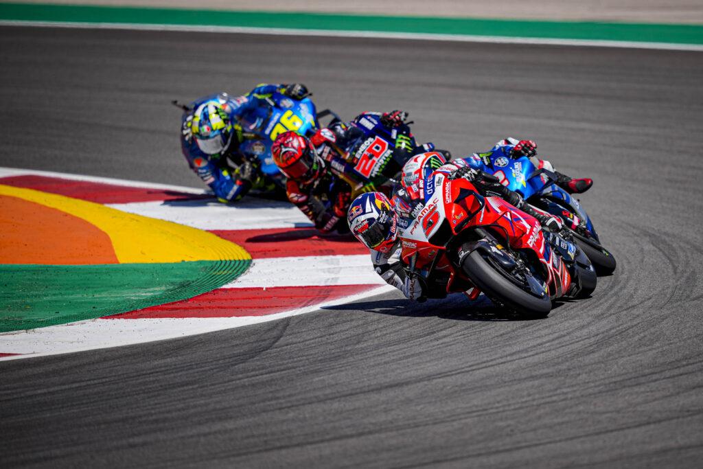"MotoGP | GP Portimao Gara: Johann Zarco, ""Mi dispiace per la caduta"""