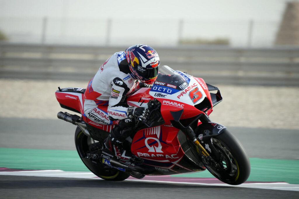 MotoGP | Gp Qatar 2 Warm Up: Zarco al Top, Morbidelli è quarto