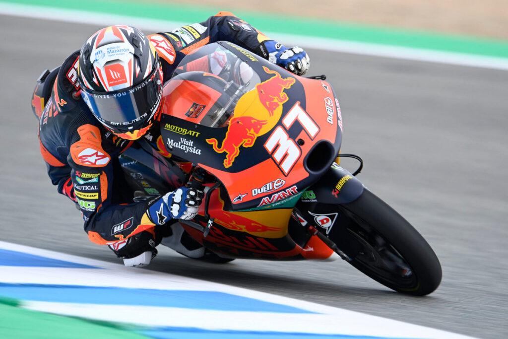 Moto3   Gp Jerez Gara: Acosta show! Terza vittoria consecutiva, Fenati 2°