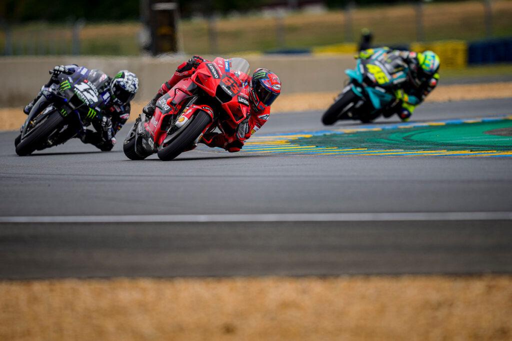 "MotoGP   GP Le Mans Gara: Bagnaia, ""Bene il 4° posto, rimonta lunga e divertente"""