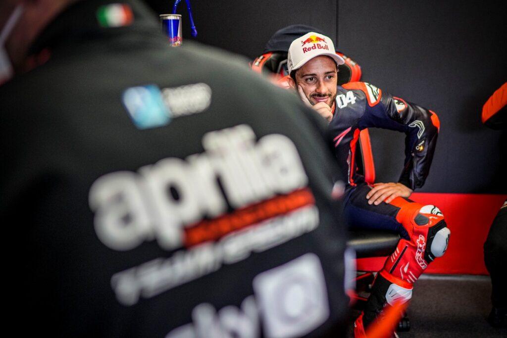MotoGP   Aprilia e Dovizioso ancora insieme nel 2021, prossimo test a Misano