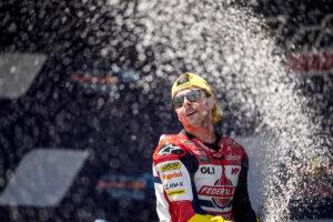 "Moto2 | Gp Jerez: Fabio Di Giannantonio, ""Vittoria per Fausto"""