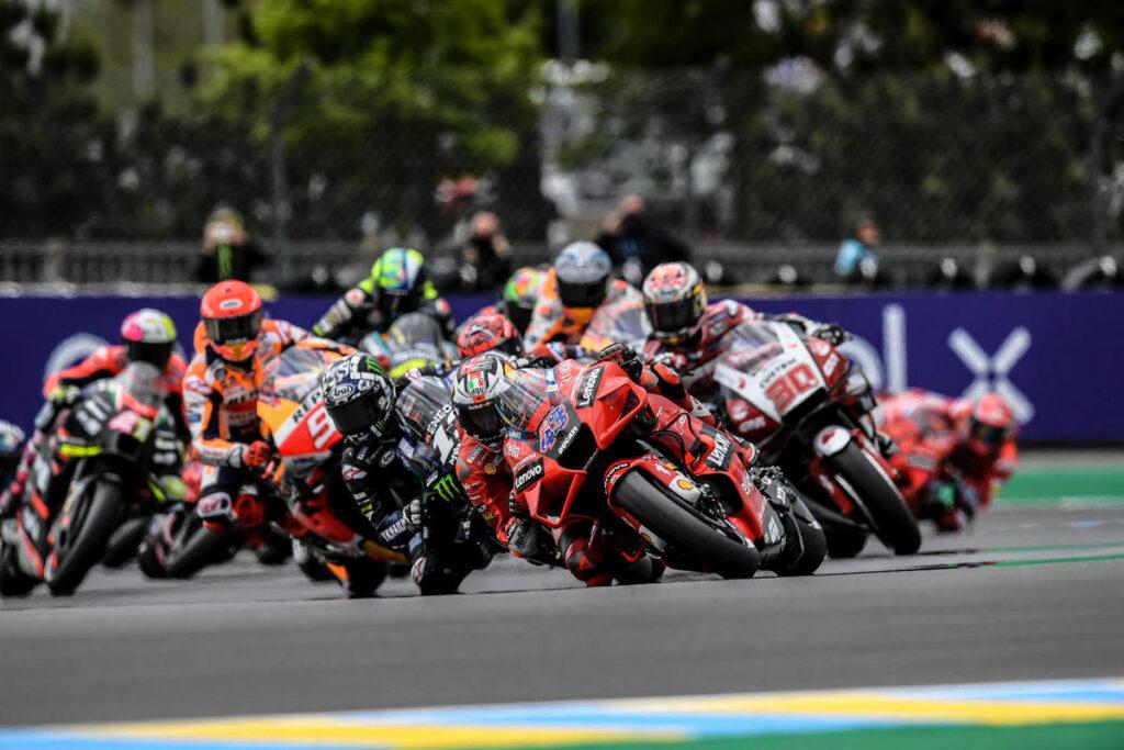 MotoGP   Gp Le Mans: altra doppietta Ducati, Quartararo sul podio [FOTOGALLERY]