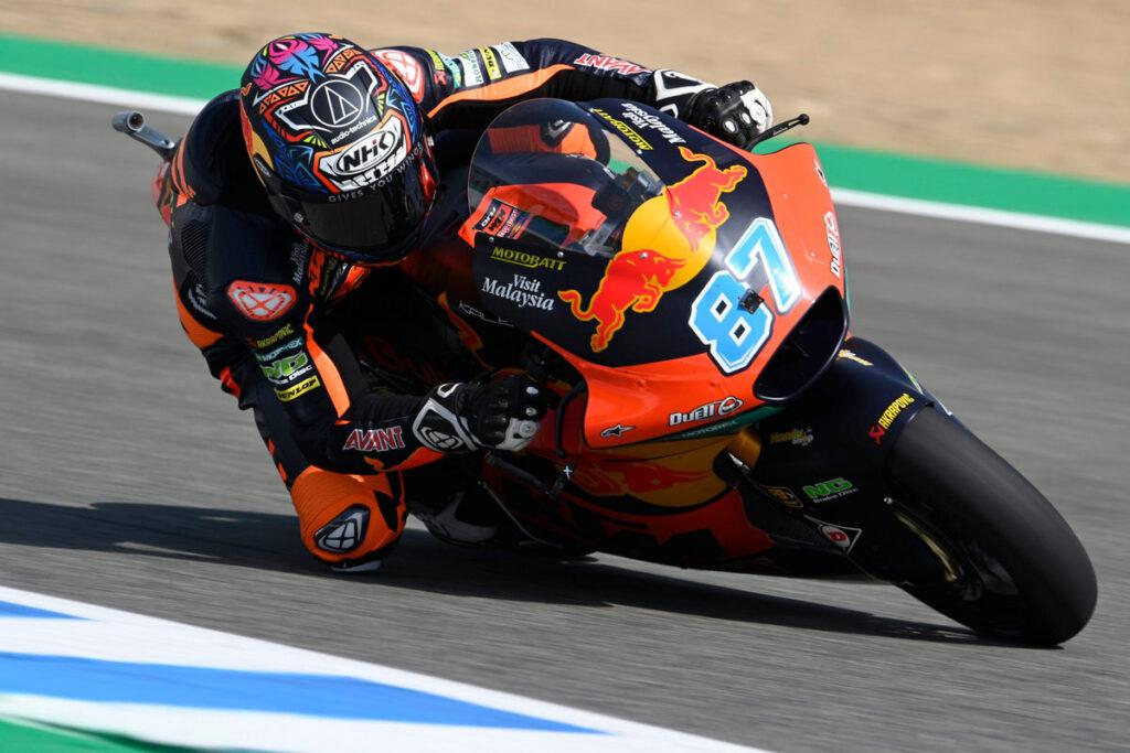 """Moto2   Gp Jerez Qualifiche: Gardner centra la pole, """"Diggia"""" e Bezzecchi in prima fila"""