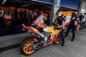 """MotoGP   GP Le Mans: Marc Marquez, """"Spero di avere meno complicazioni"""""""
