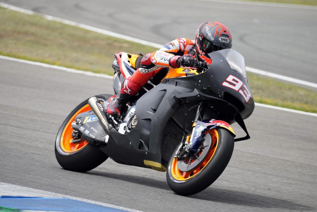 "MotoGP | Test Jerez: Marc Marquez, ""Oggi non ero in grado di guidare"""