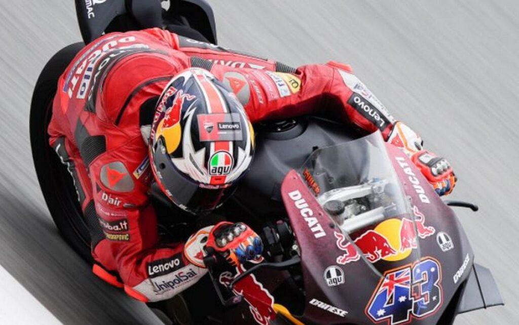 MotoGP | Miller non si ferma, in pista a Barcellona con la Ducati Panigale V4S