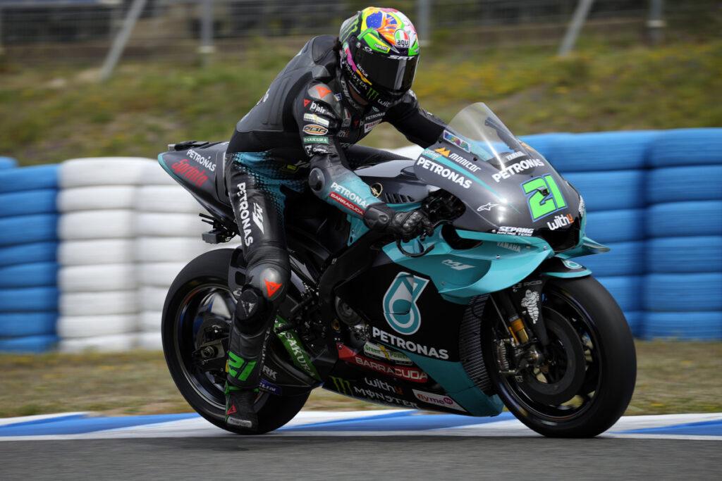 """MotoGP   Test Jerez: Franco Morbidelli, """"Abbiamo lavorato in ottica Le Mans"""""""