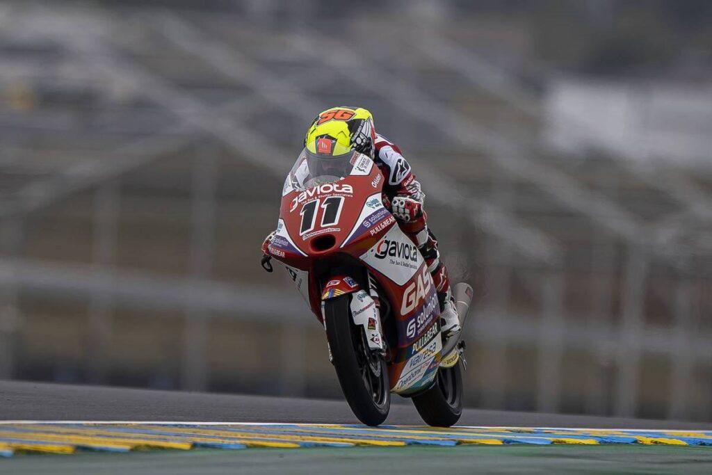 Moto3   Gp Le Mans Gara: Gp thriller, vince Garcia, strepitoso Rossi terzo