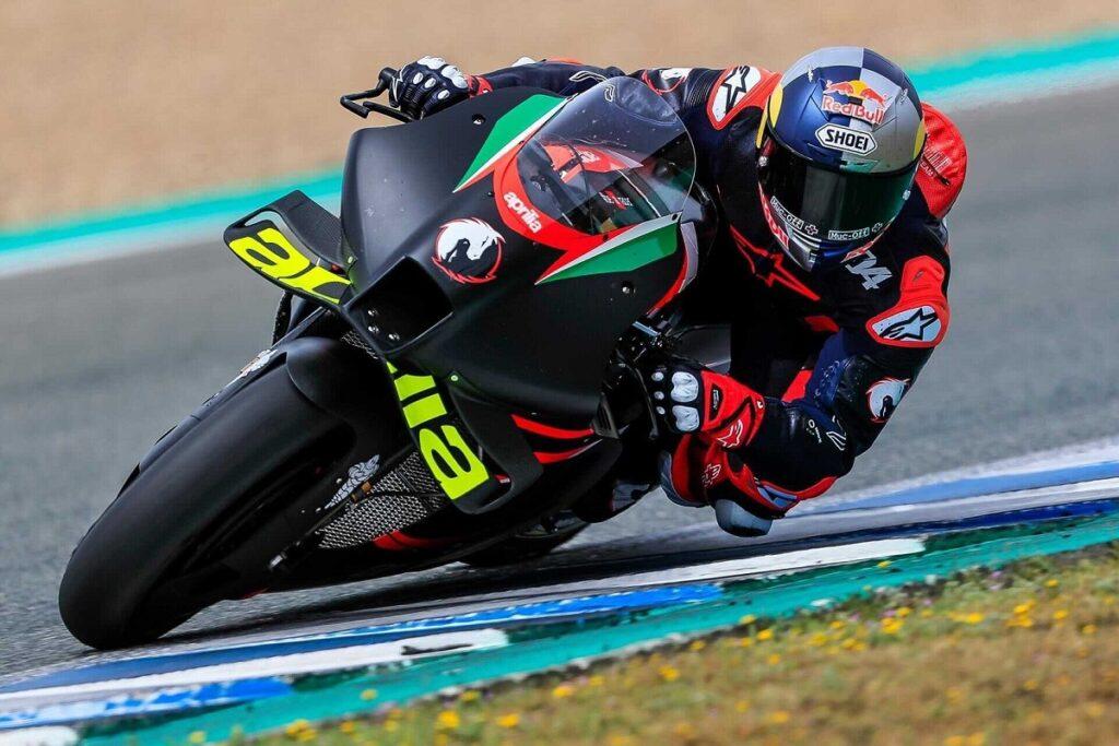 MotoGP   Test Mugello Aprilia e Dovizioso: prima giornata condizionata dal maltempo [VIDEO]