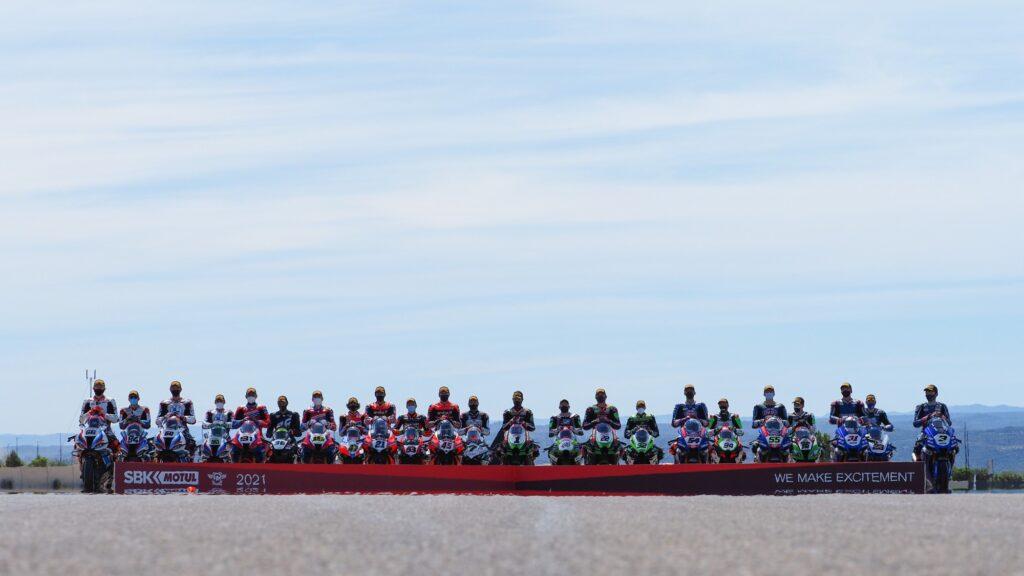 Superbike | Round Aragon: foto di classe 2021 per i piloti