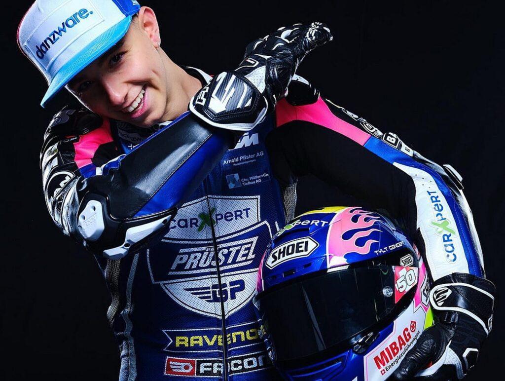 Moto3   Jason Dupasquier: il ricordo del team Prustel GP