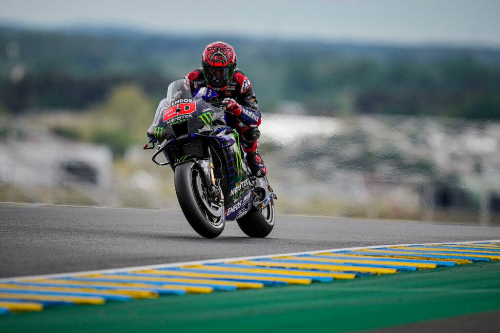 MotoGP   Gp Le Mans Qualifiche: Pole di Quartararo, battuti Vinales e Miller, Rossi chiude nono