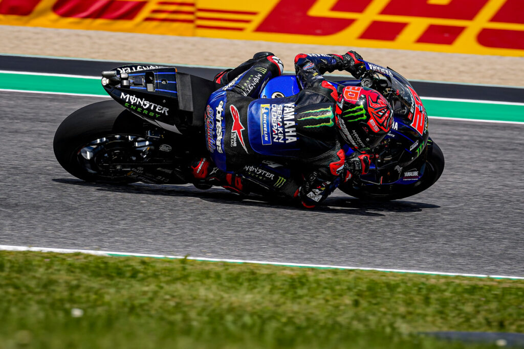 MotoGP   Gp Mugello Gara: dominio di Quartararo, Bagnaia a terra, Rossi decimo