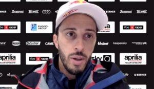 """MotoGP   Test Aprilia Mugello: Andrea Dovizioso, """"Peccato per il meteo, pista sempre speciale"""""""
