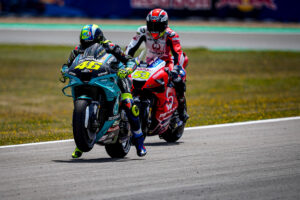 """MotoGP   GP Jerez Qualifiche: Valentino Rossi, """"Morbidelli si merita la moto ufficiale"""""""