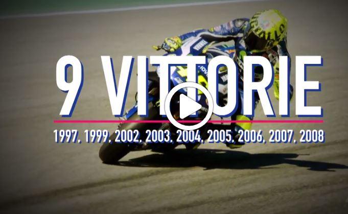 MotoGP | GP Italia: le nove vittorie di Valentino Rossi [VIDEO]
