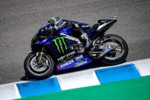 MotoGP | Gp Jerez Warm Up: Vinales al Top, altra caduta per Marc Marquez, Rossi 20°