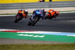 """MotoGP   GP Olanda Gara, Alex Rins: """"Siamo stati parecchio sfortunati"""""""