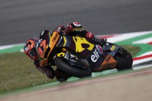 Moto2 | Gp Barcellona Warm Up: due Fernandez al Top, Bezzecchi è terzo